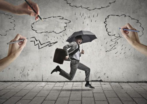 Pessimistic investor macroeconomic outlook